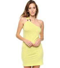 vestido amarillo destino collection