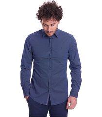 slim fit pattern shirt