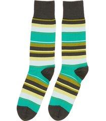 colourblock stripe crew socks