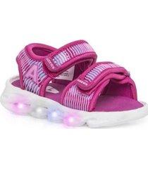 sandalia rosa addnice con luces funny store