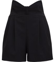 red valentino shorts with bow detail