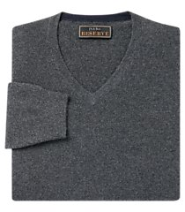 jos. a. bank reserve collection cashmere v-neck men's sweater - big & tall
