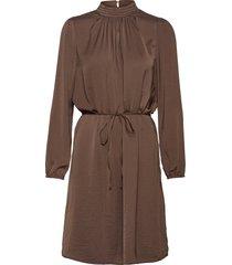 aileensz ls dress kort klänning brun saint tropez