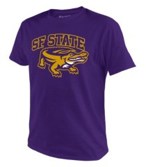 top of the world men's san francisco state big logo t-shirt