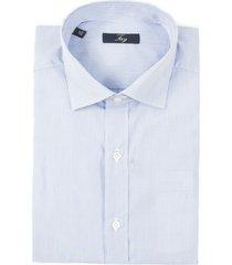 fay light blue stripes cotton shirt