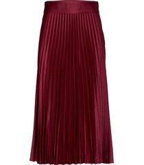 cleo skirt knälång kjol röd twist & tango