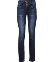 jeans elasticizzati effetto modellante slim (blu) - john baner jeanswear