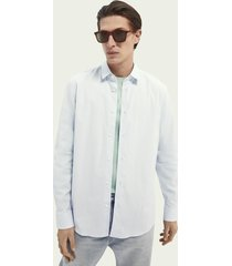 scotch & soda classic shirt relaxed fit