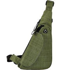 imbracatura esterna impermeabile per uomo e donna nylon borsa cassa casual borsa solid messenger borsa