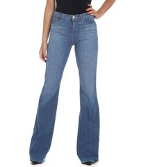 jbrand - flared jeans in blue