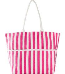 borsa shopper in tessuto (fucsia) - bpc bonprix collection