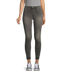 dbd high-rise skinny ankle jeans