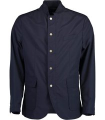 blue loro piana hybrid jacket