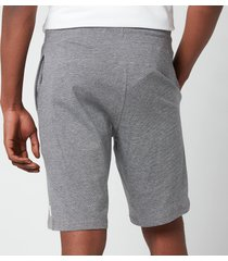 ps paul smith men's contrast drawstring jersey shorts - slate - xl