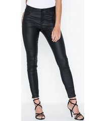 noisy may nmkimmy nw coated ankle pants bl no byxor