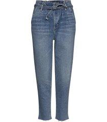 mom jeans jeans mom jeans blå hollister