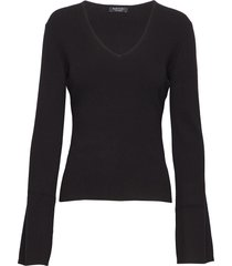 mialen sweater top gebreide trui zwart marciano by guess