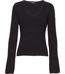 mialen sweater top gebreide trui zwart marciano by guess