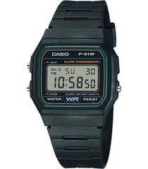 reloj negro casio vintage