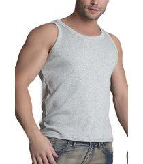 camiseta sin mangas gris baziano
