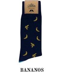 par media azul oscuro bananos