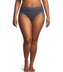 dot-print lace bikini panty