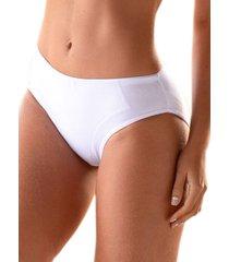 panty levantacola y control abdomen en algodón - blanco ref. 1170 soutien