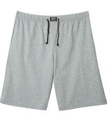 pyjamashorts, grijs-gemêleerd xl