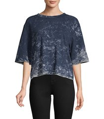tokyo cropped cotton tee