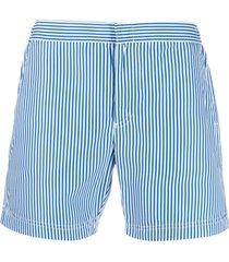 bluemint stripe-print swim shorts