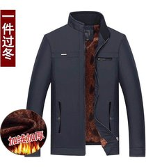 chaqueta de hombre chaquetas de invierno para hombre de mediana edad negras