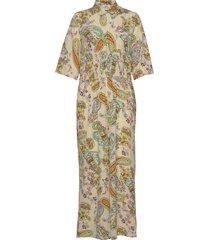 neo paisley creamy jumpsuit multi/patroon mads nørgaard