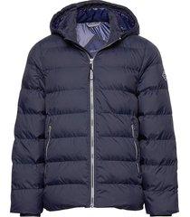 d1. the active cloud jacket gevoerd jack blauw gant