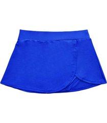 bikini short falda azul samia