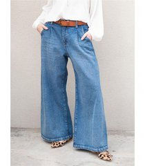 pantalón azul wanama birkin tina jeans