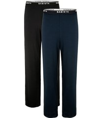pyjamabroek babista zwart::blauw