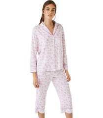pijama camisero capri oriental multicolor women secret 492503390xl