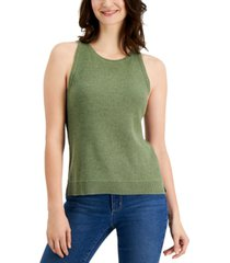 charter club petite sleeveless sweater, created for macy's