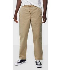 polo ralph lauren stretch relaxed fit chino byxor tan