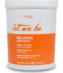 gelatina capilar hidratante pro salon let me be 1kg