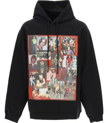 raf simons hoodie with patch