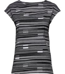 ladies blouse, näkkäri t-shirts & tops short-sleeved grå nanso