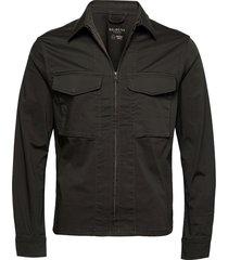 slhadam zip jacket w dun jack grijs selected homme