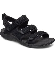 siren 2 strap shoes summer shoes flat sandals svart merrell