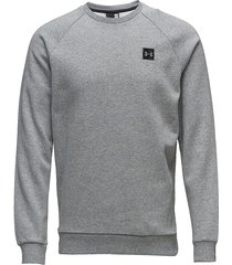 rival fleece crew sweat-shirt tröja grå under armour