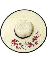sombrero beige donadonna iza