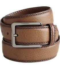 joseph abboud cognac brown belt