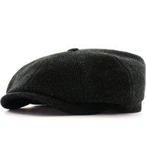 stetson hats hatteras shetland wool flat cap | multi | 6840106-5