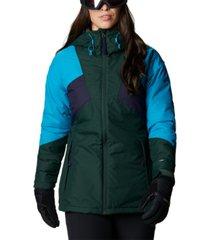 columbia women's alpine diva insulated ski jacket