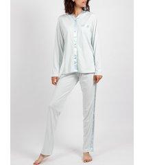 pyjama's / nachthemden admas aqua pyjama topjes en broeken